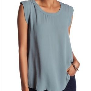 Jade colored Pleione blouse